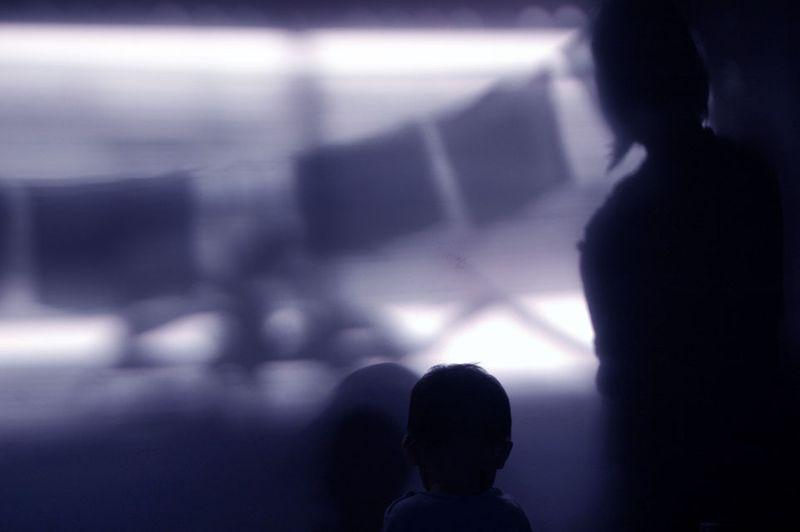 Shadow on th ewall